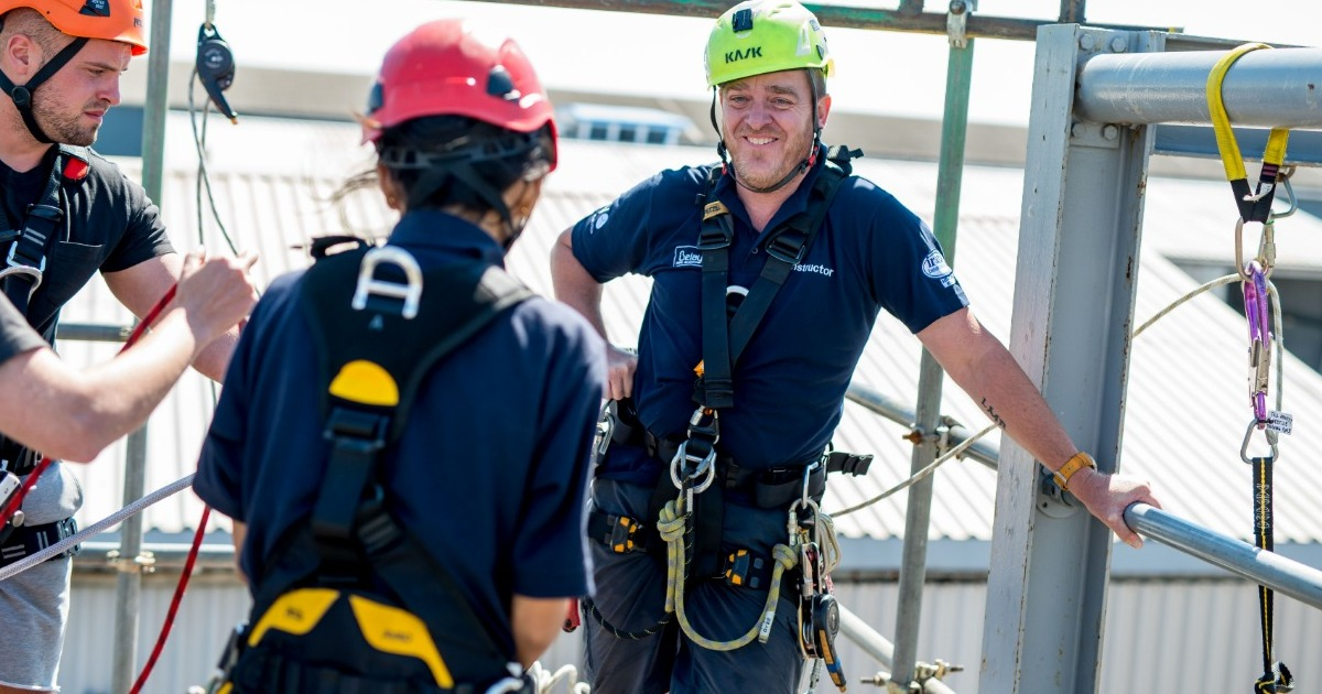 GWO Certification: a strong plus for Belay Rope Access in UK