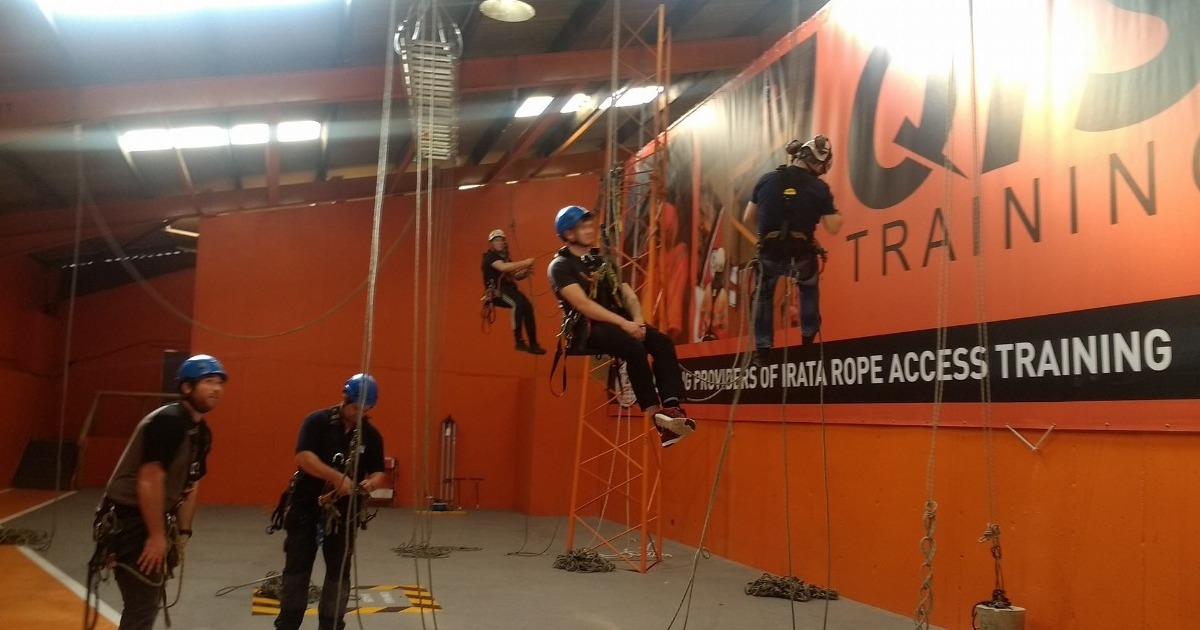 Places still available on IRATA Rope Access 20th to 24th January
