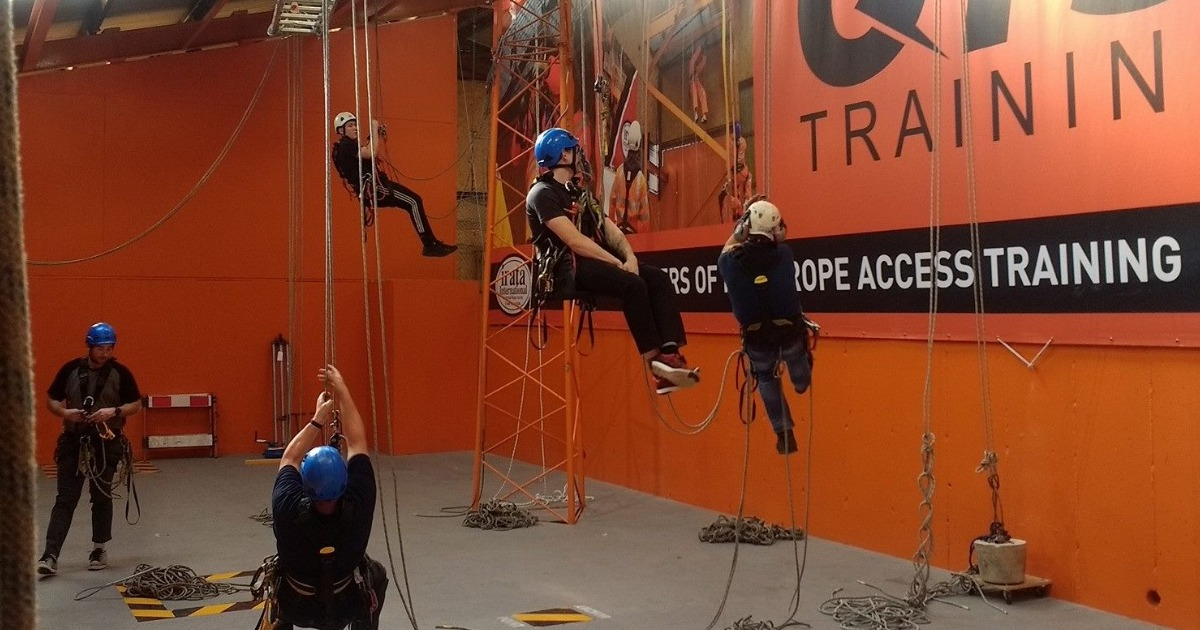 2020 Rope IRATA Rope Access dates now available to book