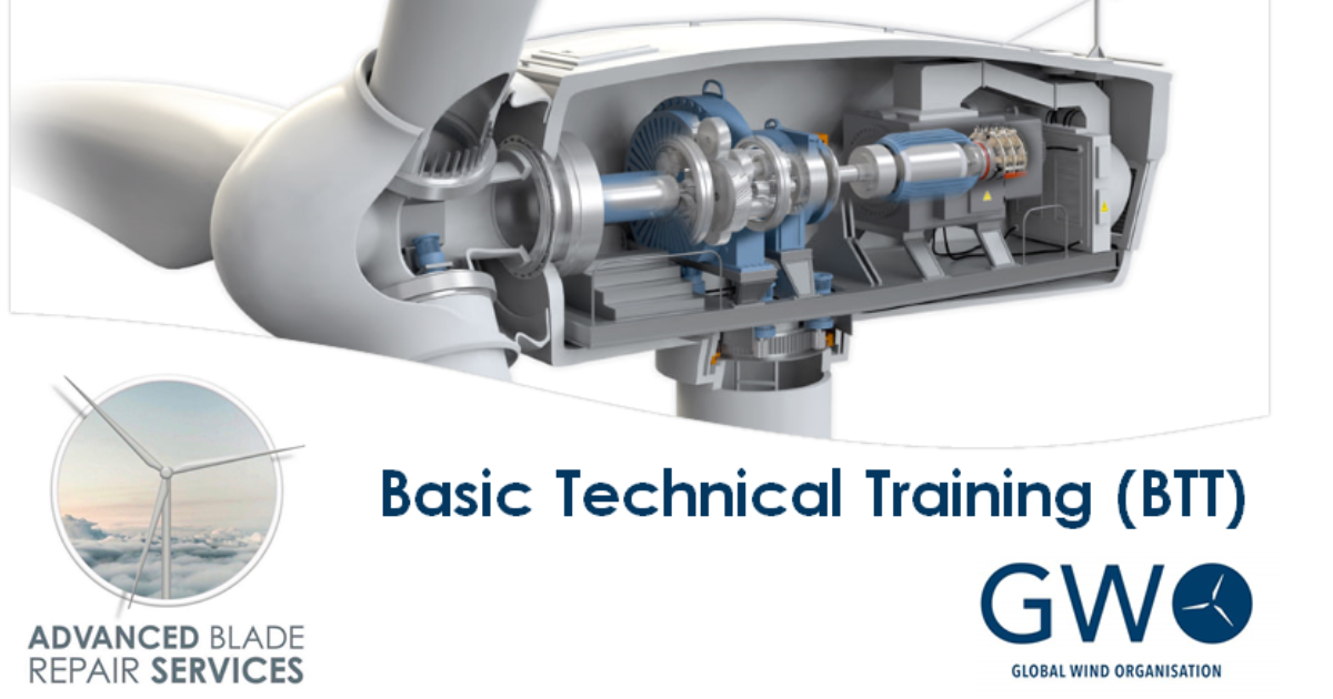 Spaces available for GWO Basic Technical Training course