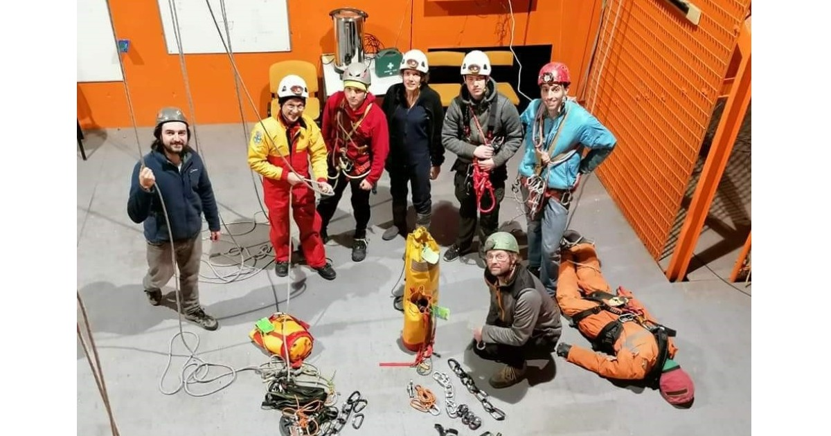 Working in Partnership with The Scottish Cave Rescue Association