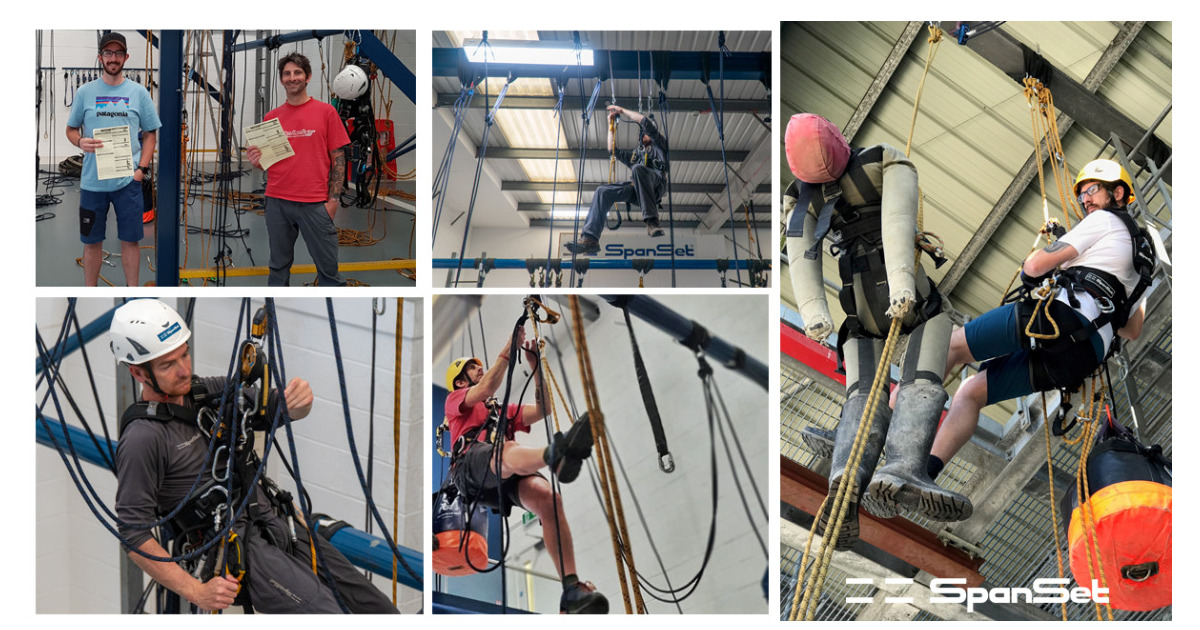 SpanSet - IRATA Rope Access Training - Never Stop improving