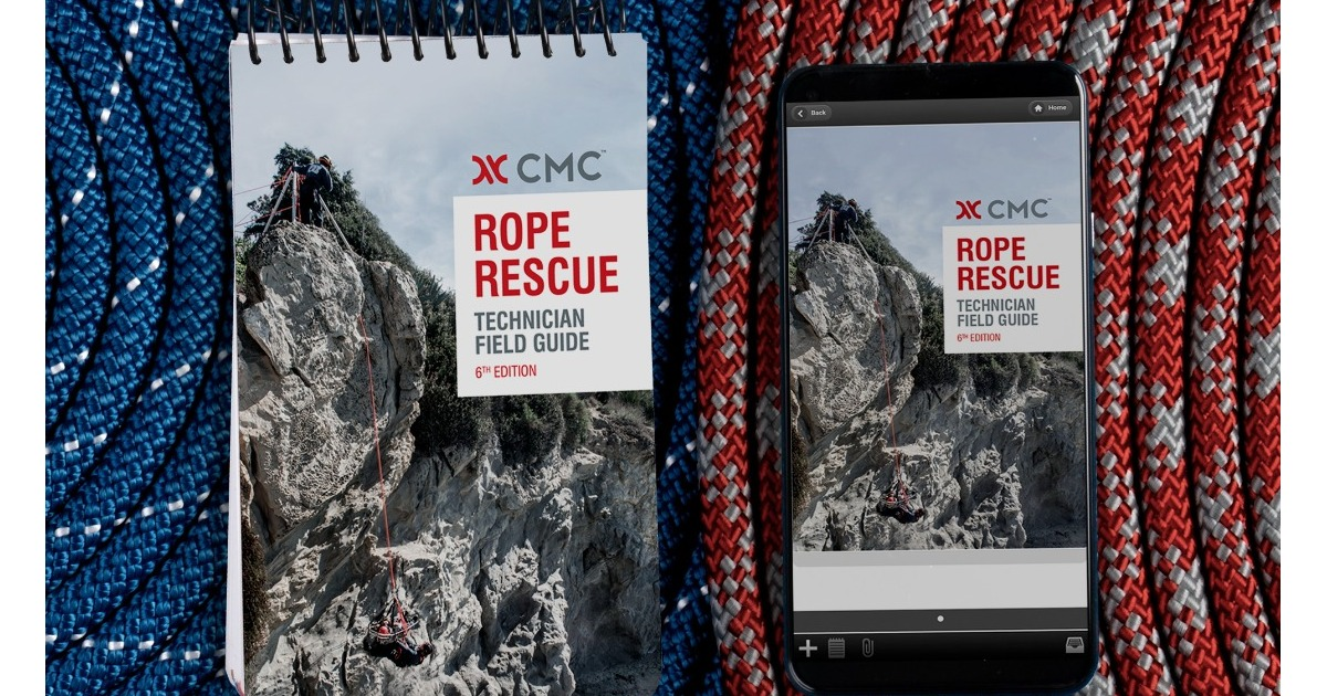 CMC 6th Edition Rope Rescue Technician Manual and Field Guide Now Available