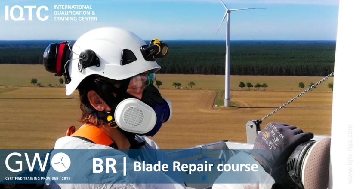 GWO APPROVED BLADE REPAIR COURSE