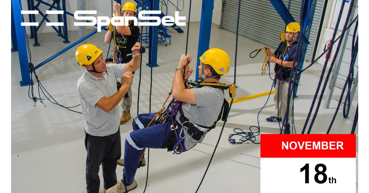 Only 3 spaces left on Nov 18th IRATA Rope Access Training Course!