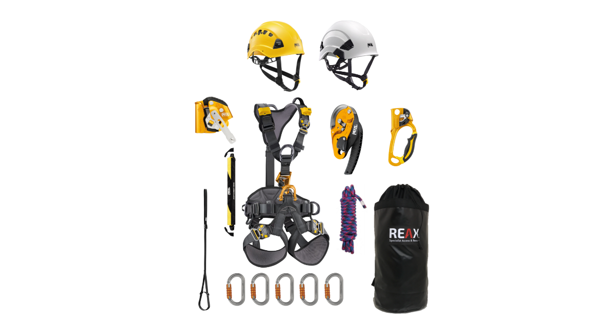NEW PETZL 2019 products now in stock at REAX!