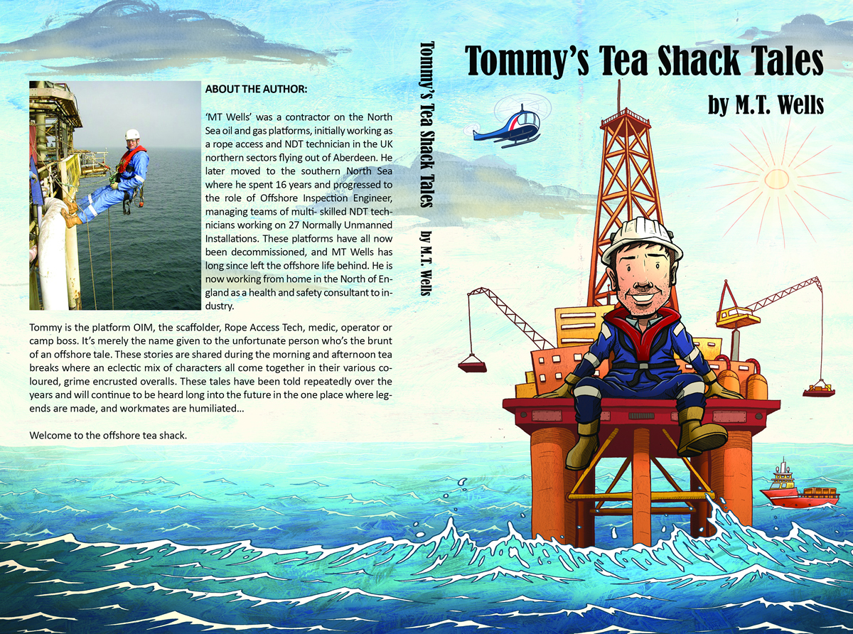 New Book Released About Offshore Life - Tommys Tea Shack Tales
