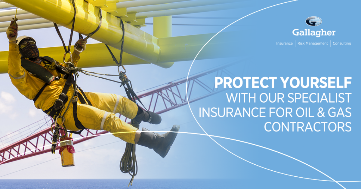 Gallagher arrange IRATA-approved Rope Access Insurance
