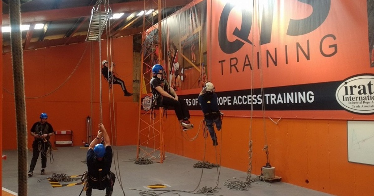 Places still available on November & December Rope Access courses